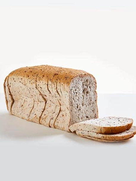 Well & Good Sliced Large White Seed Loaf