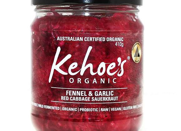 Kehoe's Fennel & Garlic Sauerkraut