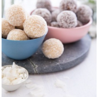 Nourishing by Sally KETO Coconut Raffaello Ball