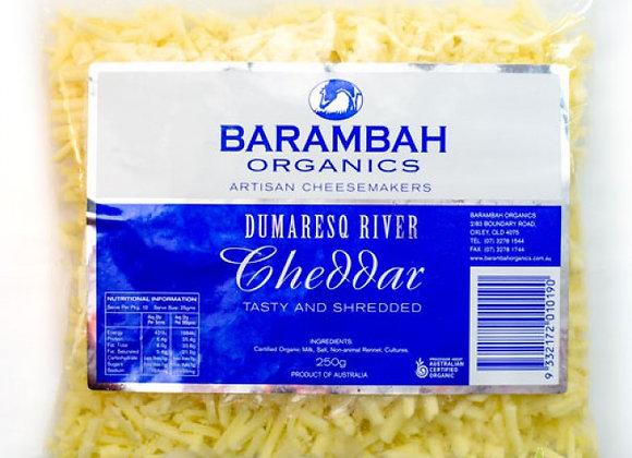 Barambah Dumaresq River Cheddar Tasty and Shredded