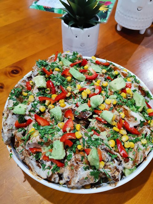 Roast Cajun Sweet Potato Salad