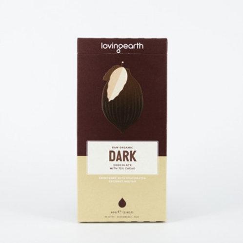 Loving Earth Organic Dark Chocolate