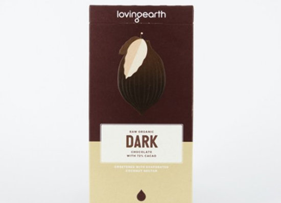 Loving Earth Organic Dark Chocolate