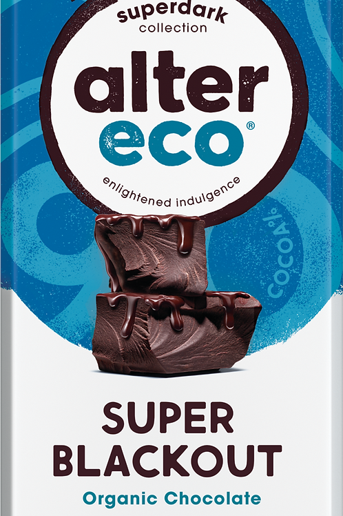 Alter Eco Super Blackout Organic Chocolate
