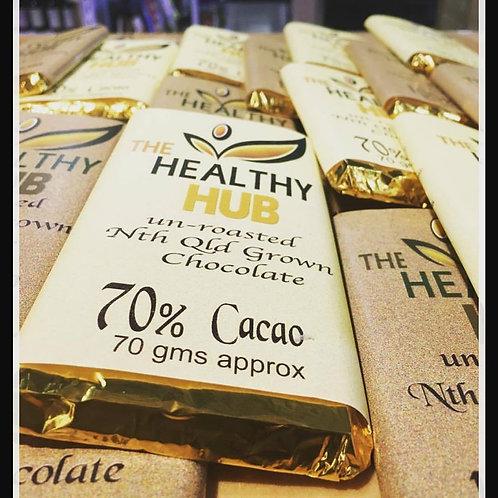The Healthy Hub 70% Cacao Chocolate