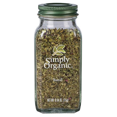 Simply Organic Basil 15g