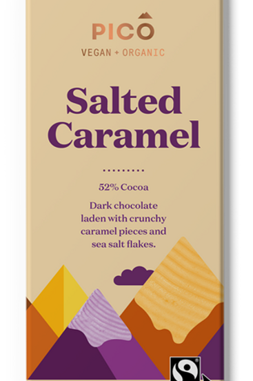 Pico Vegan & Organic Salted Caramel Chocolate