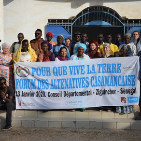 Forum des alternatives et programme en Casamance