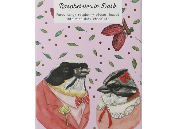 Benneto Natural Foods co Raspberries in the Dark Chocolate