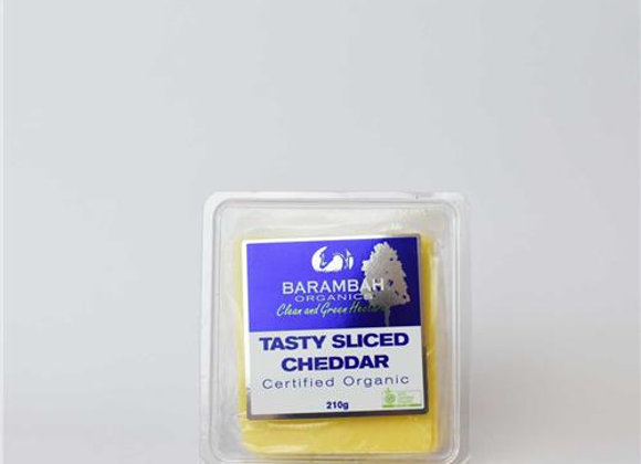 Barambah Certified Organic Tasty Sliced Cheddar