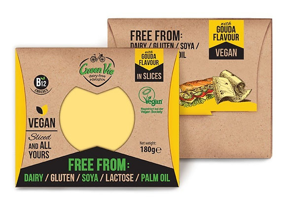 Vegan Gouda Flavour Slices 180g