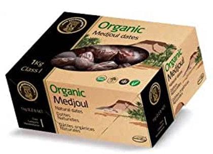 Certified Organic Medjoul Dates Israeli 1kg box