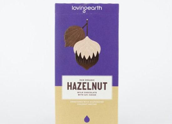 Loving Earth Organic Hazelnut Chocolate