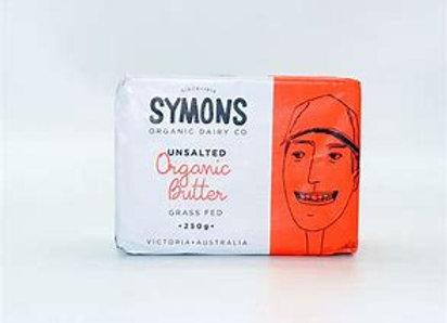 Symons Unsalted Grass Fed Organic Butter