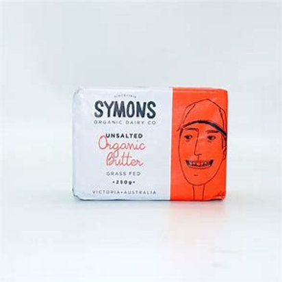Symons Unsalted Grass Fed Organic Butter