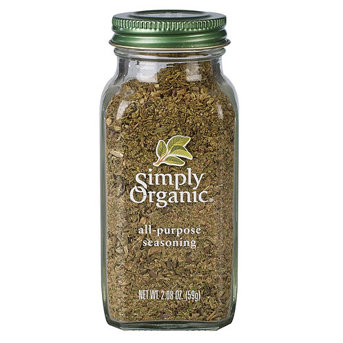 Simply Organic All-Purpose Seasoning 59g