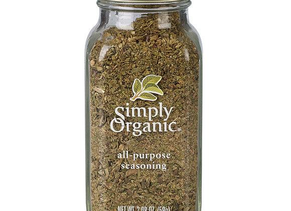 Simply Organic All-Purpose Seasoning 59g