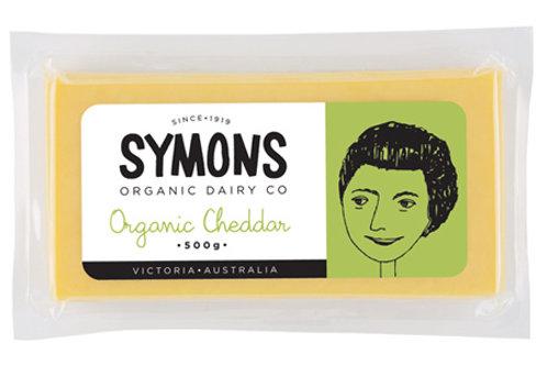 Symons Organic Cheddar 500g