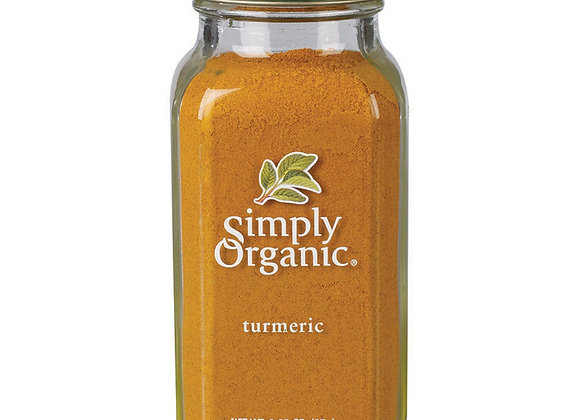 Simply Organic Turmeric 67g