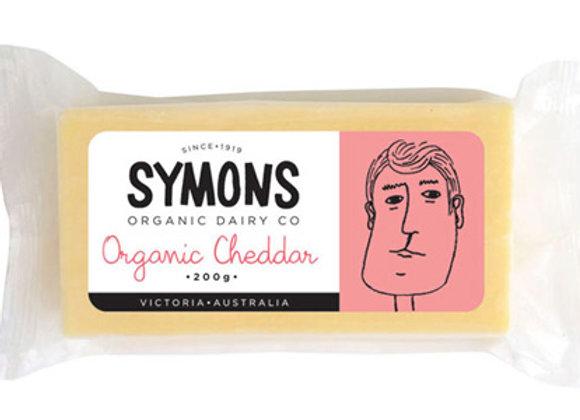 Symons Organic Cheddar 200g