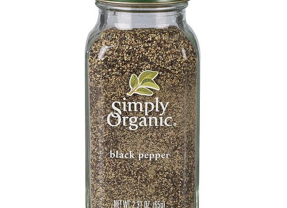 Simply Organic Black Pepper 65g