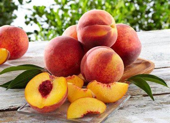 Certified Organic Yellow Peaches