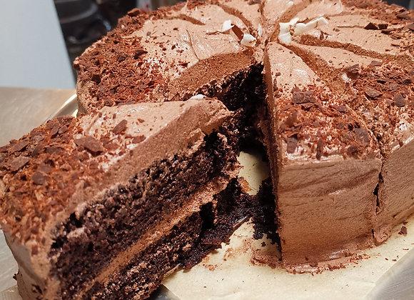 The Healthy Hub's Chocolate Fudge Cake