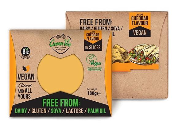 Vegan Cheddar Flavour Slices 180g