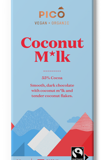 Pico Vegan & Organic Coconut M*lk Chocolate