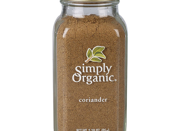 Simply Organic Coriander 85g