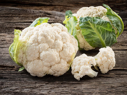 Certified Organic Cauliflower