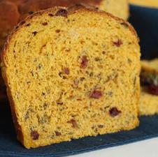 Pumpkin Fruit Rice Bread