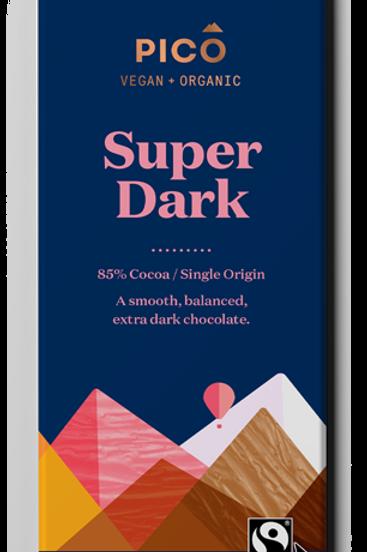 Pico Vegan & Organic Super Dark Chocolate