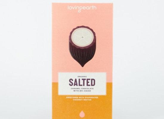 Loving Eath Salted Organic Caramel Chocolate