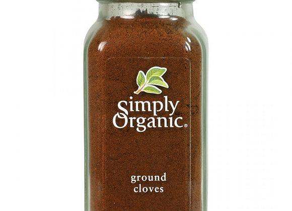 Simply Organic Ground Cloves 80g