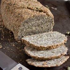 Gluten Free Paleo Bread Seeded (v)
