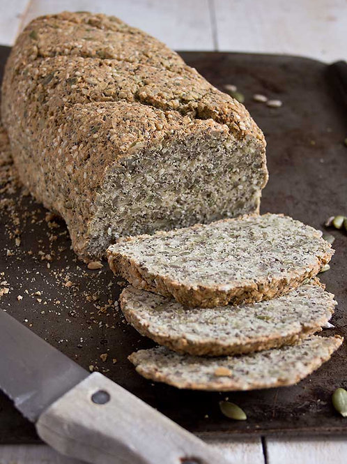 Almond Road Gluten Free Paleo Bread Seeded (V) 720g