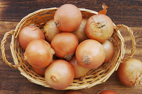 Certified Organic Brown Onions