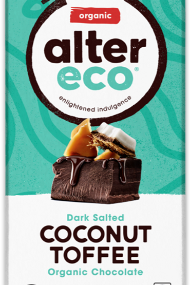 Alter Eco Coconut Toffee Organic Chocolate