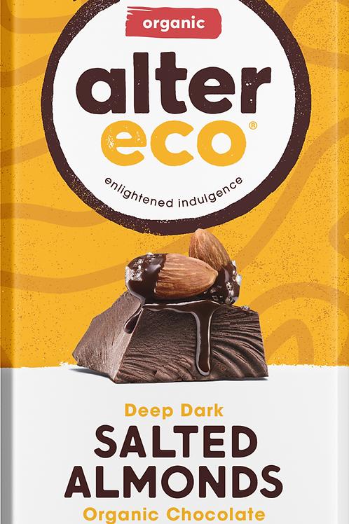 Alter Eco Salted Almonds Organic Chocolate