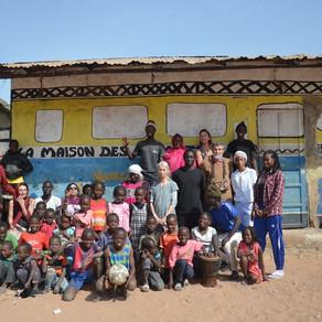 L'arrivée de la Caravane au Sénégal