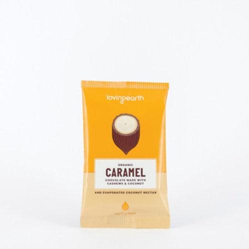 Loving Earth Organic Caramel Chocolate 30g