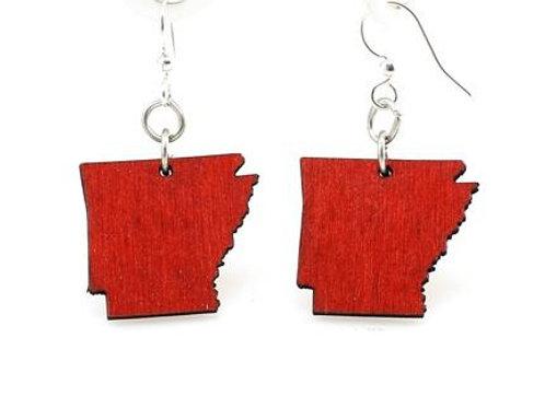 Arkansas State Earrings - S004