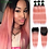 Thumbnail: Red Hair Bundles With Closure 28Inch Long Straight Beauty Plus Hair Weaves