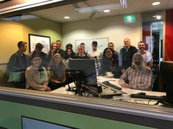 Broadcasting group photo