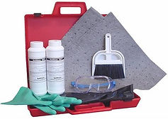 Small Caustic Lab Spill Kit    Wholesale Safety Labels