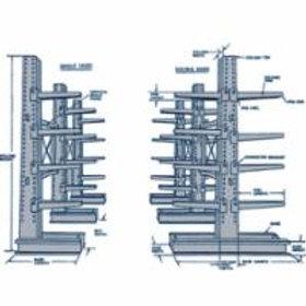 Shelving - Cantilever Bar-Stock Racking 8 Styles