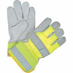 High visibility Split Cowhide Fitters Thinsulate-Lined Gloves
