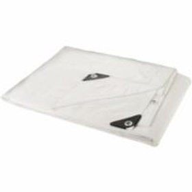 Polyethylene Tarpaulins - Heavy-Duty White