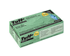 TUFF BLUE DISPOSABLE NITRILE GLOVES POWDER-FREE, MEDICAL GRADE